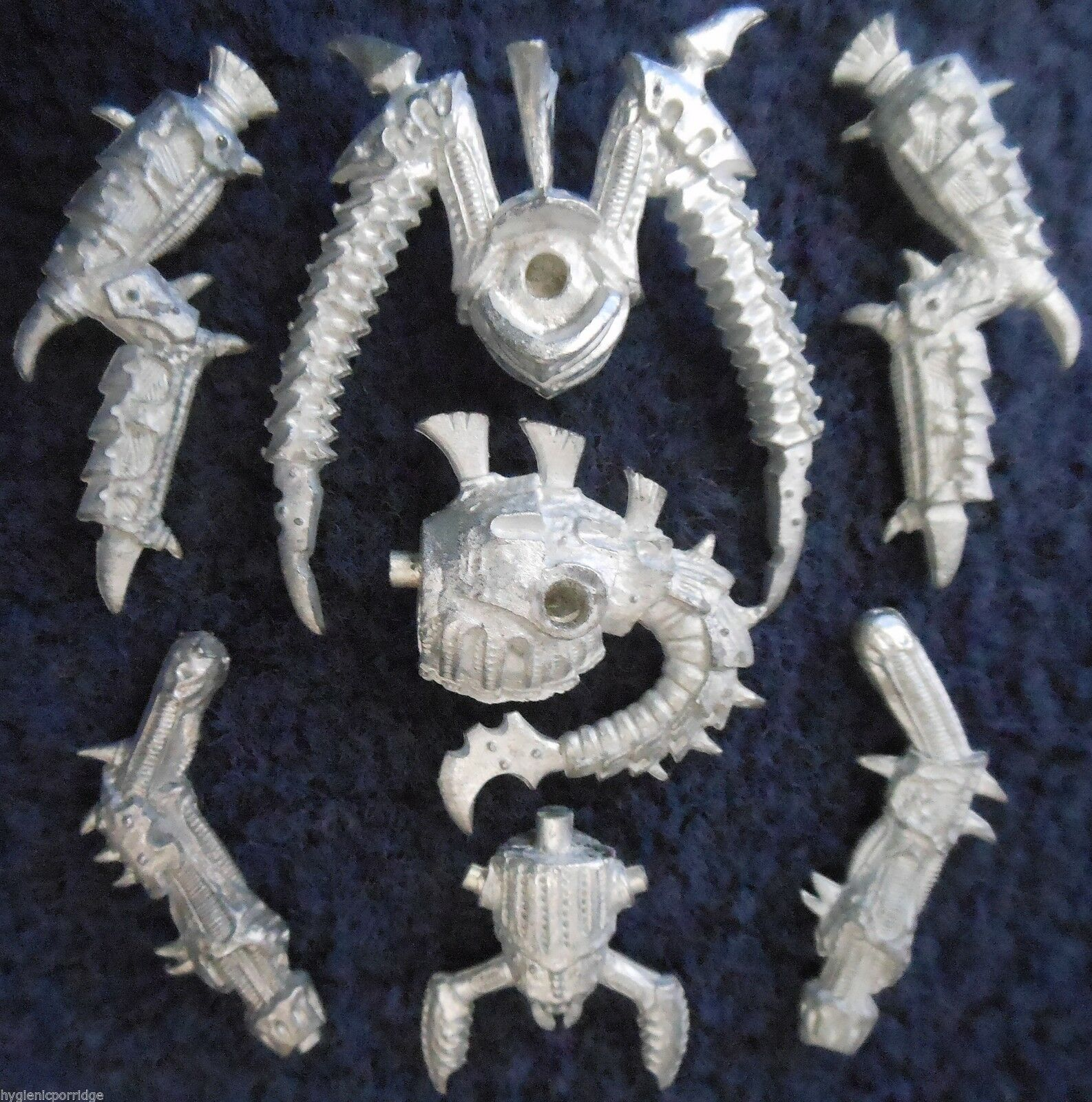 1995 Epic Tyranid Bio Titan Hierodule 2 Games Workshop Warhammer Army 6mm 40K GW