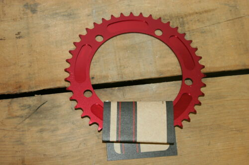 NEW Brev M Masi Fixie Fixed Gear Chain Ring Sprocket Chainring 44t Red 130 BCD
