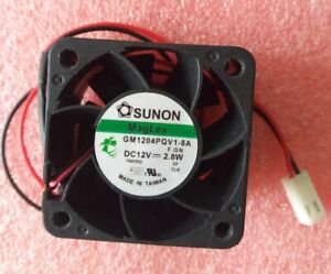 FOR 3 PIN SUNON 40 x 40 x 28mm MAG LEV GM1204PQV1-8A CASE FAN DC+12V 2.8W