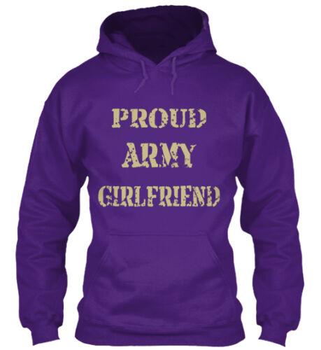 Proud Army Girlfriend-valentine Gift 12 Girlfriend Gildan Hoodie Sweatshirt