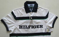 Tommy Hilfiger White Polo Shirt M Medium Brand With Tags
