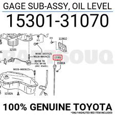 OIL LEVEL 15301-17030 1530117030 Genuine Toyota GAGE SUB-ASSY
