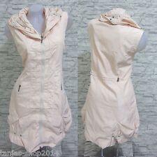 NEU Lange Weste Kleid Tunika Longshirt Aprico Gr 44 (R3272N) GLAMZ FRANSTYLE