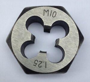 1-25mm-Hexagonal-Die-Nut-Metric-M2-M3-M4-M5-M6-M7-M8-M10-M12-1-0-1-25-1-5