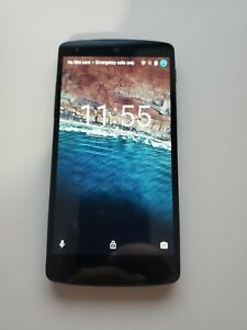 LG Nexus 5 Smartphone, WORKS GREAT, GREAT SHAPE! Phone only, Android, 16GB