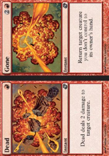 4x Dead //// Gone NM-Mint English Planar Chaos MTG Magic