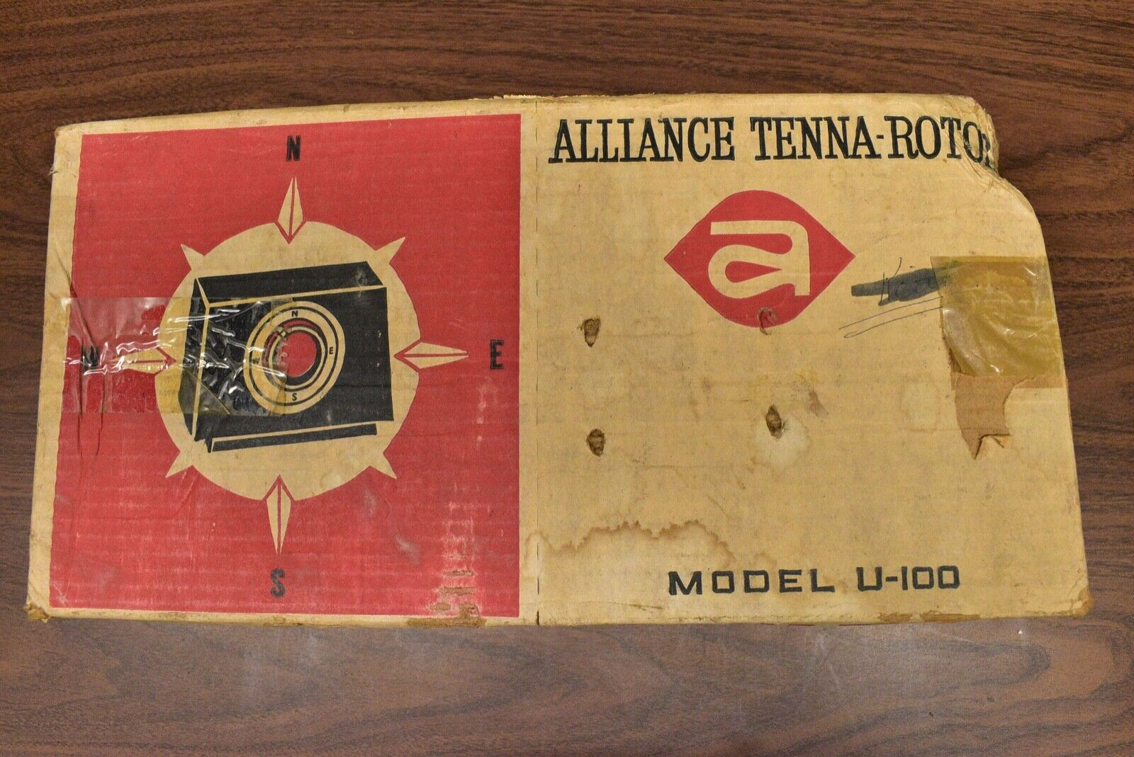 Alliance Tenna-Rotor U-100 Antenna Rotator with Controller - New Old Stock. Available Now for 259.00