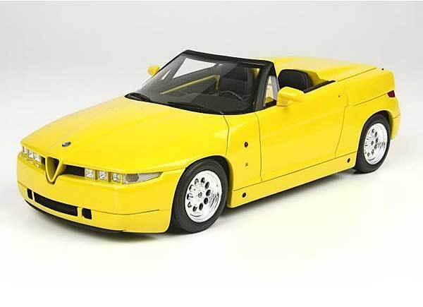 1:18 Alfa Romeo SZ Roadster 1992 1/18 • Top Marques TOP09B | Conception Habile  | Une Grande Variété De Modèles  | Caracteristique