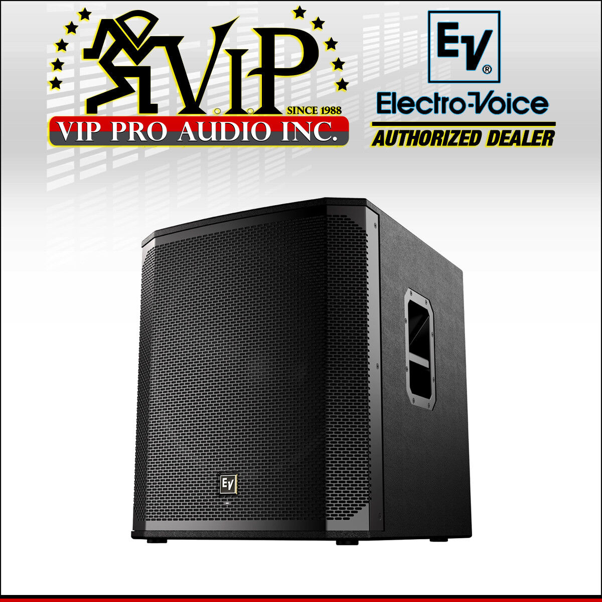 Electro-Voice ELX200-12SP 12  Powerot Subwoofer 1200W With QuickSmartDSP