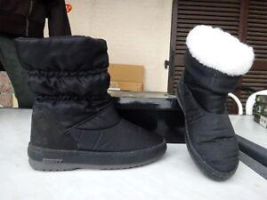 Legere Fourrure 40 Neuve Blanche Noir P Fourre Boots w4qIzW