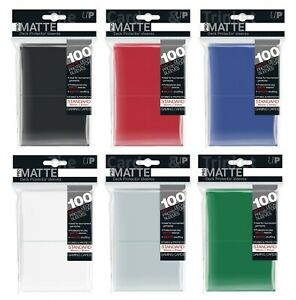 Ultra-PRO-Pro-Matte-Deck-Protector-Sleeves-Standard-Card-Size-100ct-66-x-91mm