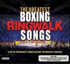 The Greatest Boxing Ringwalk Songs 2 X CD 2016