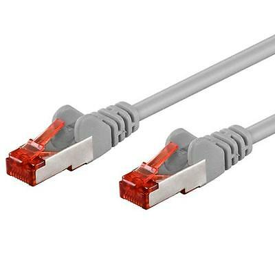 Intellinet Cavo di rete Patch in rame Cat. 6 Grigio SFTP LSZH 0,25m