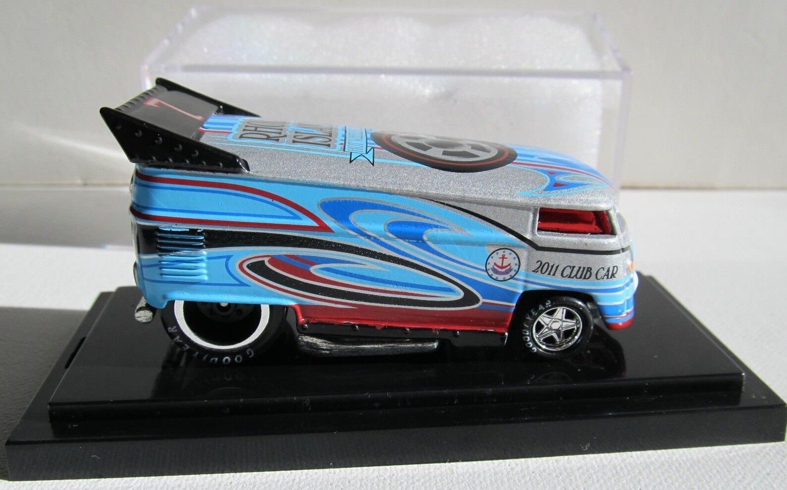 Hot Wheel Liberty promociones'11 Club Club Club Car Rhode Island Drag Bus Rebel Run 57 200 f80f3c
