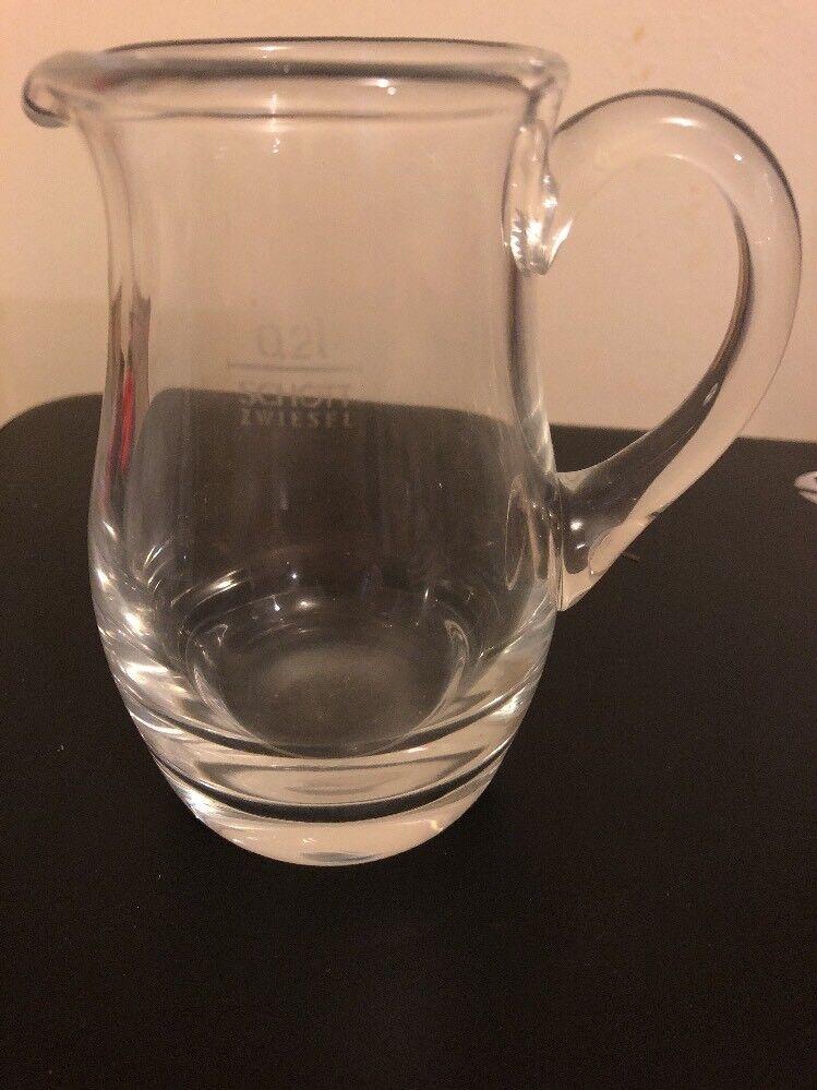 Schott Zwiesel Bistro Krug Karaffe Kanne Pitcher Kristallglas 1 L