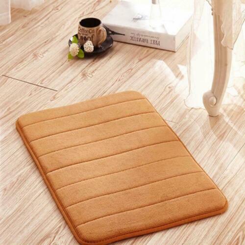 Memory Foam Non Slip Bath Mat Absorbent Soft Bathroom Home C /_NEW Rugs Z4H3