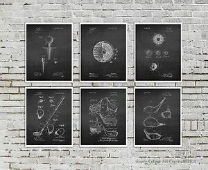 Image Is Loading Golf Wall Decor Set Of 6 Wall Art