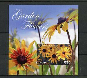 Liberia-2014-MNH-fiori-da-giardino-IV-S-S-II-FLORA-Black-eyed-Susan