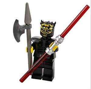 Authentic LEGO Star Wars Savage Opress Minifig sw316 7957 Zabrak Sith Lightsaber