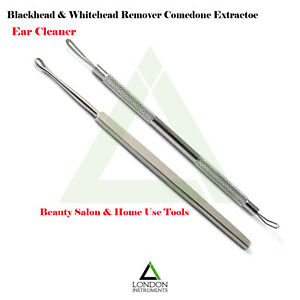 Comedone-Extractor-Acne-Blemish-Ear-Cleaner-Surgical-Tool-Stainless-Steel