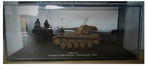 48//48BIS COMBAT TANK CARRO ARMATO AMX-13 WEST BANK 1967 scala 1\72