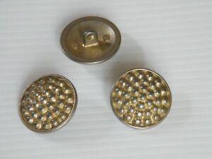 16-interessante-Metallknoepfe-Knoepfe-messing-grau-15mm