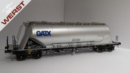 "Wechselstrom AC H0 NEU OVP NME 503754 Zementsilowagen Uacns /""GATX/"" Epoche VI"