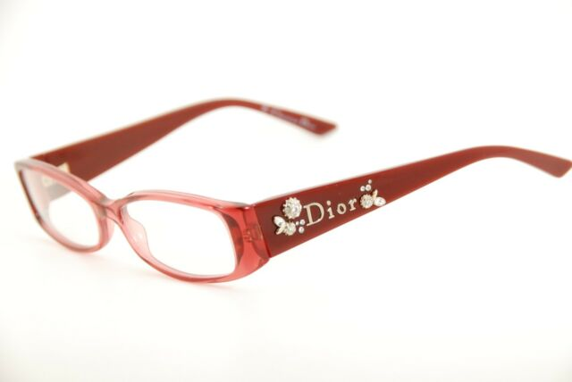 bbb9a0f95a New Authentic Christian Dior 3156 TSO Cyclamen 52mm Frames Italy Eyeglasses  RX