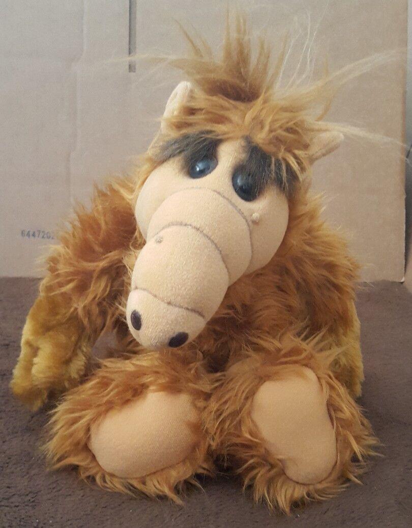 Alf Plush 18  Coleco 1986 Alien Productions Vintage ColecoToy EUC Rare Stuffed