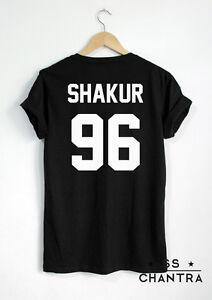 SHAKUR-96-T-Shirt-2PAC-Tupac-Shirts-Unisex-Print-on-Back-Side-Hip-Hop-Rapper-Tee