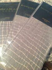 Donna Karan King Duvet Cover + 2 Euro Shams Surface Charcoal New