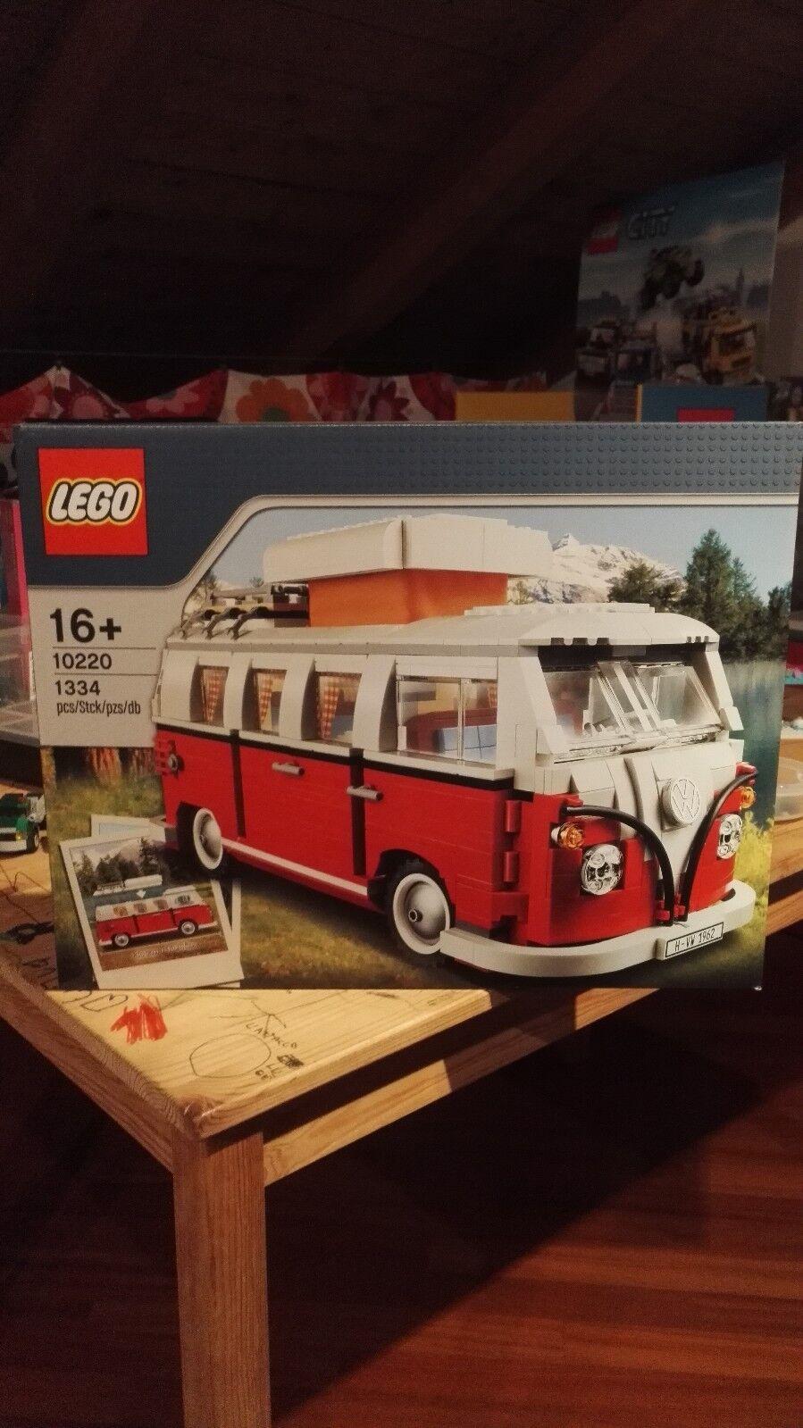 LEGO CREATOR 10220-PULMINO VOLKSWAGEN T1-CAMPER VAN - sigillato-da collezione