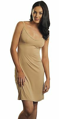 Spirituelle Marielle Nude Dress Slip for Dress, Kaftan, Resortwear.Size 8-20