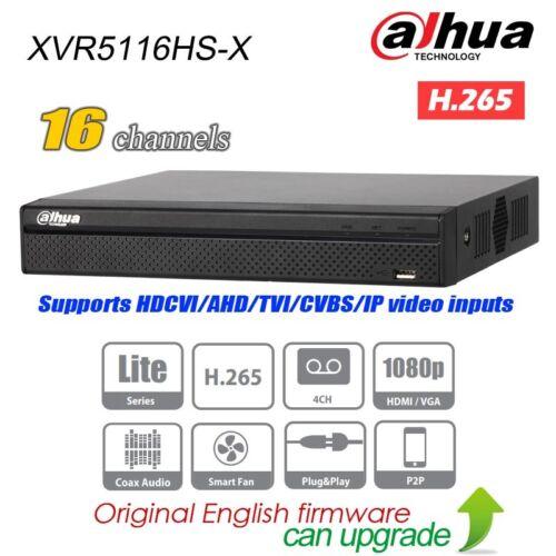 Dahua XVR5116HS-X 16CH 1080p XVR HDMI// VGA 1 SATA Por Digital Video Recorder