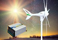Apollo 550 W Watt 12 V AC (6 Blades) Wind Turbine Generator + Hybrid Controller
