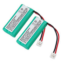 2x Cordless Phone Battery For Vtech 6042 Ds6201 Cs6229-4 Ds6111-2 89-1326-00-00