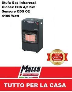 Stufa gas eos infrarossi gpl bombola 4100w globex nuova for Stufa catalitica o infrarossi