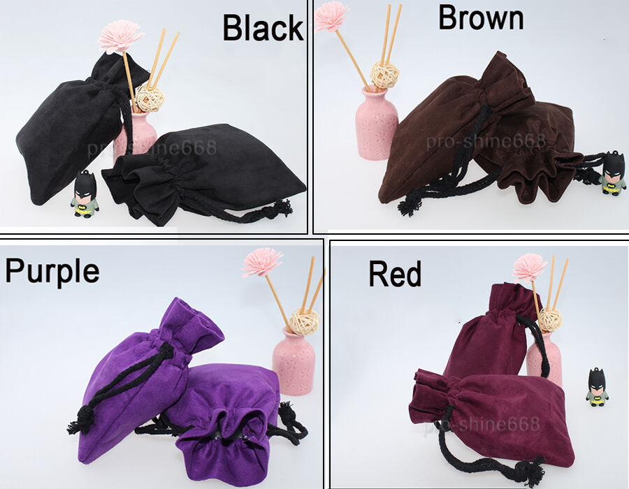 10pcs Small Medium Velvet Bags, Jewelry Wedding Party Favors,Drawstring Pouch a