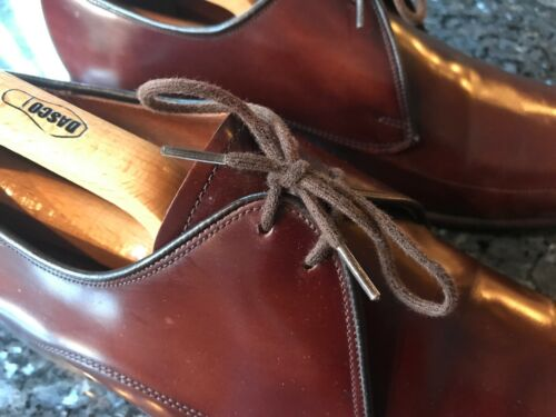 Eu Leather Brown All Uk Condition Up Good Lace Men's Barker's 42 scarpe 8 tpw5xqzS