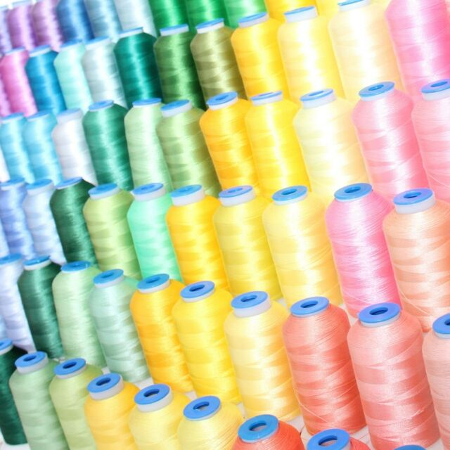 Exquisite Polyester Embroidery Thread SHADES OF GREEN