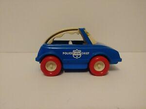 Vintage Buddy L My First Buddy Police Cheif Car Ebay