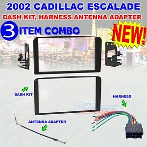 Details about 2002 METRA 95-3004 2-DIN DASH KIT FOR SELECT CADILLAC on