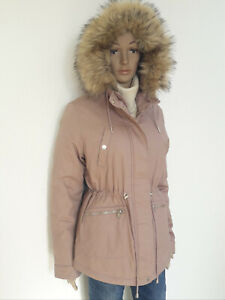 huge selection of 31976 a344a Details zu Damen Jacke Parka mit Fell-Kapuze Clockhouse 40/42 NEU