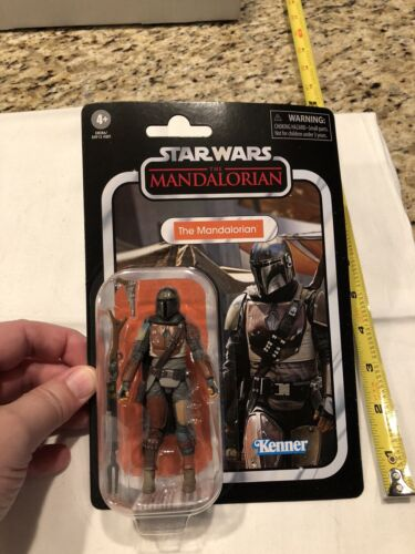 """Star Wars Vintage Collection The Mandalorian 3.75"""" Action Figure New in Package"""