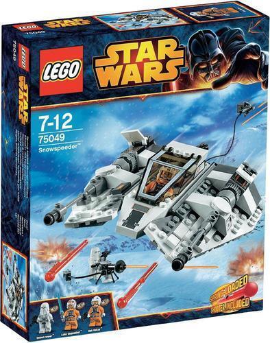 LEGO Star Wars 75049 Snowspeeder Snowspeeder Snowspeeder komplett unbeschädigt brandneu und ungeöffnet ddabe9
