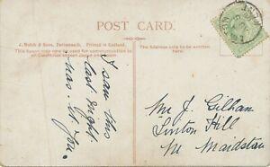 GB-VILLAGE-POSTMARKS-034-LINTON-KENT-034-MAIDSTONE-Kent-Thimble-21mm-1906-on-pc