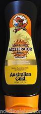 AUSTRALIAN GOLD Dark Tanning ACCELERATOR LOTION BIOSINE COMPLEX 8 oz