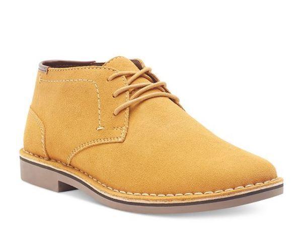 Desert Sun Suede Chukka Boots Wheat