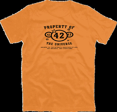 Property of the universe - 42 - dont panic T-Shirt  S-XXXL