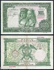 1000 pesetas año 1957 Reyes Católicos Sin serie MBC- / SPAIN   VF-